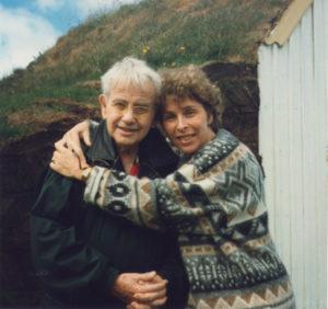 1995 - Jacques Canetti et sa fille Francoise DR
