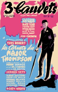 Affiche Les carnets du Major Thomson def