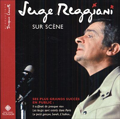 CD Serge Regianni sur scène