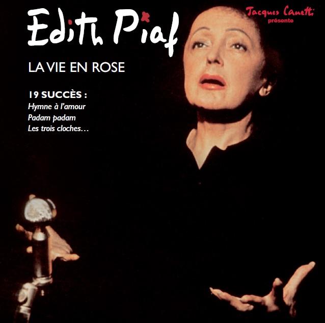 Produit Edith PIAF - La vie en rose