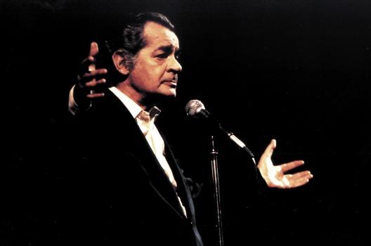 Serge Regianni sur scène