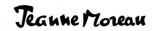 jeanne Moreau signature