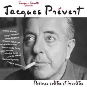 Jacques PREVERT - Poème solites et insolites - Productions Jacques Canetti