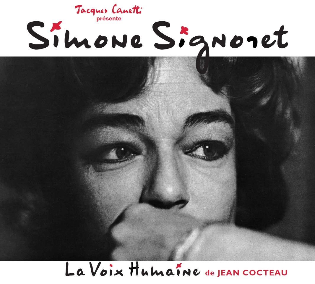 Simone SIGNORET - La voix humaine - Productions Jacques Canetti