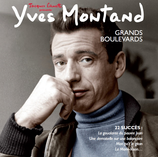 Yves Montand – Grands boulevards (CD)