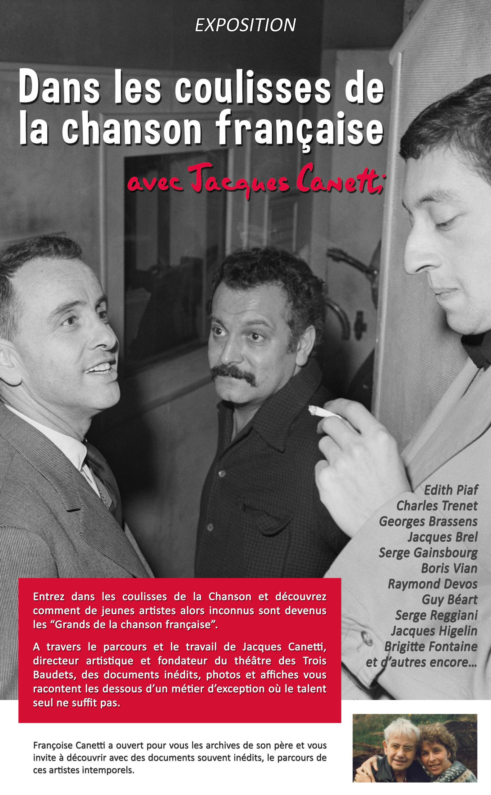 Dans les coulisses de la chanson française - Productions Jacques Canetti
