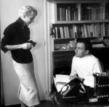 Boris Vian et Lucienne Vernay - Productions Jacques Canetti