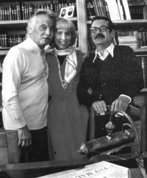 Lucienne Vernay avec Georges Brasses et Fallet - Productions Jacques Canetti