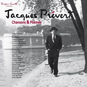 VISUEL VINYLE Jacques Prévert - Chansons et Poèmes